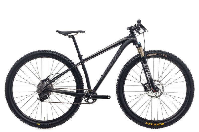 "Specialized Stumpjumper EVO 29 15.5"" Bike - 2014 drive side"