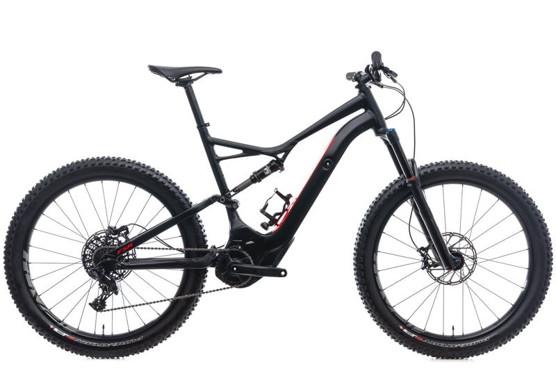 Specialized Turbo Levo FSR 6Fattie X-Large Bike - 2017 drive side
