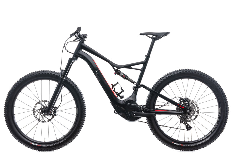 Specialized Turbo Levo FSR 6Fattie X-Large Bike - 2017 non-drive side