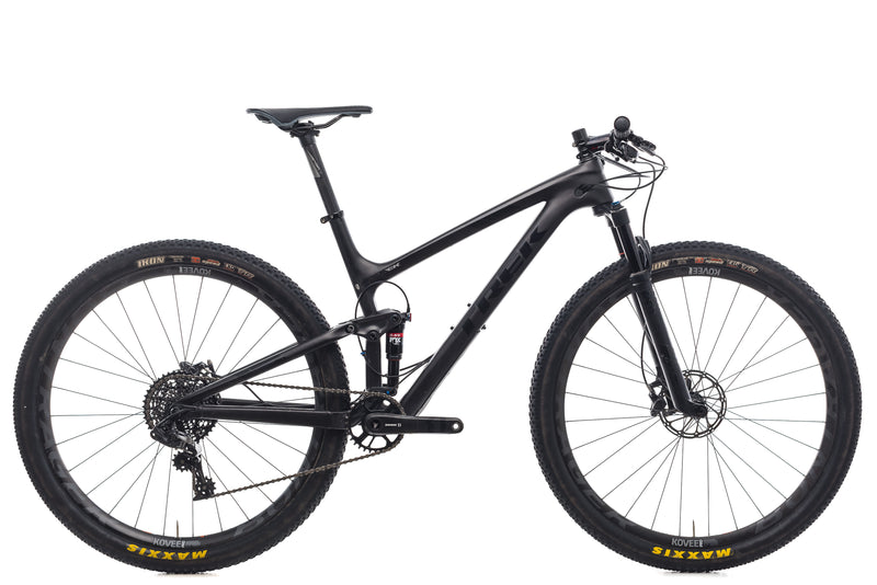 "Trek Top Fuel 9.8 SL 19.5"" Bike - 2017 drive side"