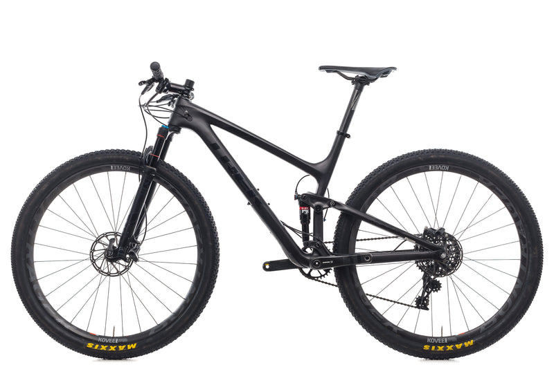 "Trek Top Fuel 9.8 SL 19.5"" Bike - 2017 non-drive side"