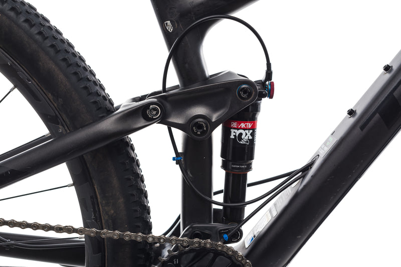 "Trek Top Fuel 9.8 SL 19.5"" Bike - 2017 drivetrain"