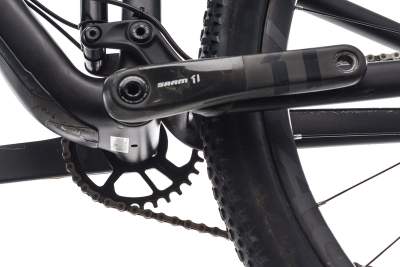"Trek Top Fuel 9.8 SL 19.5"" Bike - 2017 crank"