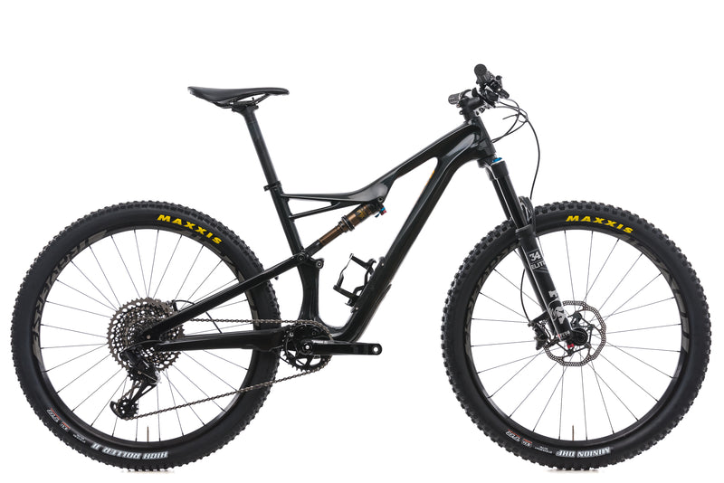 Specialized Camber Pro Carbon 650b Medium Bike - 2017 drive side