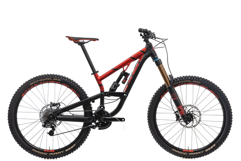 Scott Voltage FR 710 Mountain Bike - 2017, Small drive side
