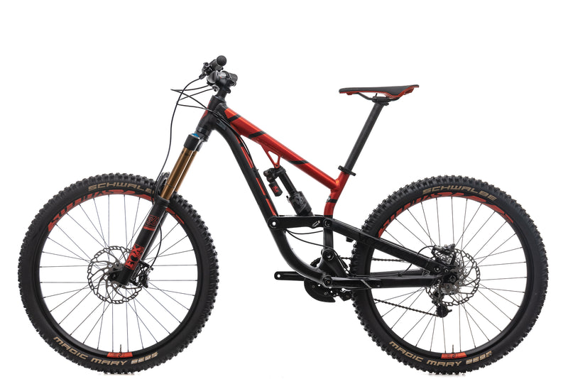 Scott Voltage FR 710 Mountain Bike - 2017, Small non-drive side