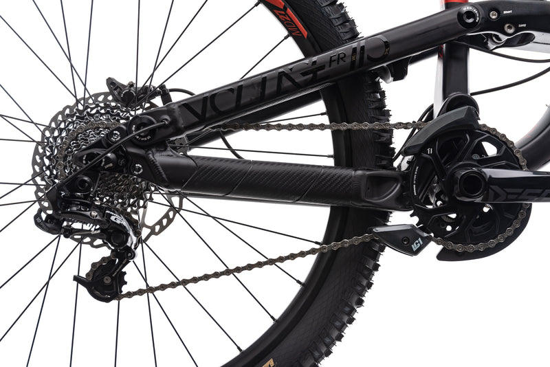 Scott Voltage FR 710 Mountain Bike - 2017, Small drivetrain