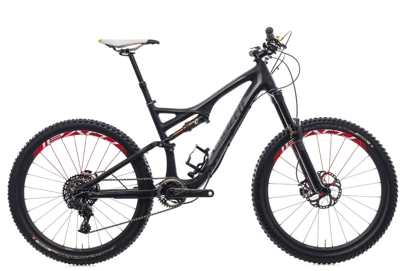 Specialized Stumpjumper FSR Expert Carbon Evo Medium Bike - 2014 drive side
