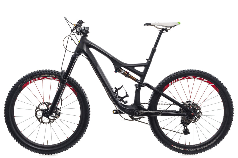 Specialized Stumpjumper FSR Expert Carbon Evo Medium Bike - 2014 non-drive side