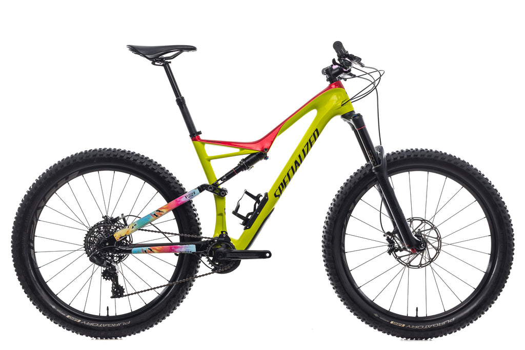 4a2f9a95a4e Specialized Stumpjumper FSR Comp Carbon 6Fattie Large Bike - 2017 ...