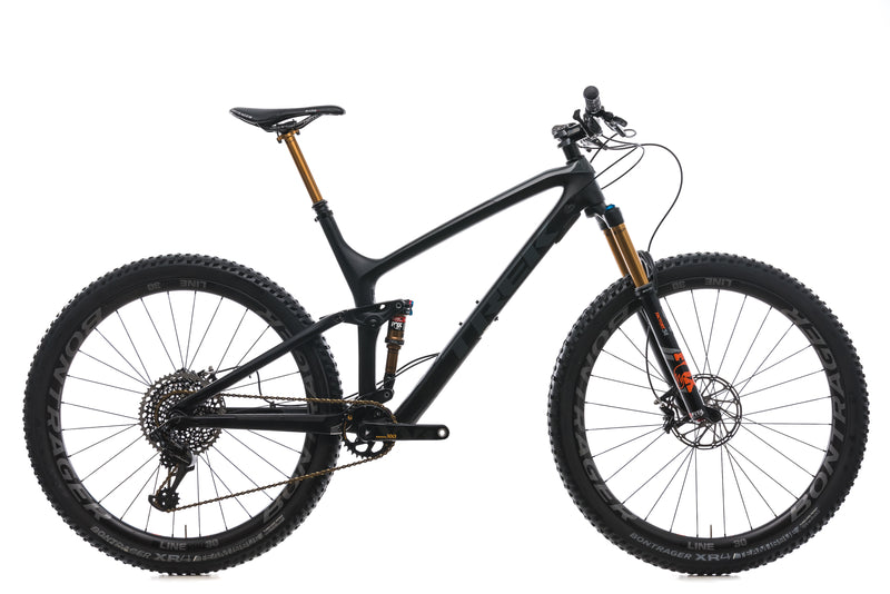 Trek Fuel EX 9.9 X-Large Bike - 2018 drive side