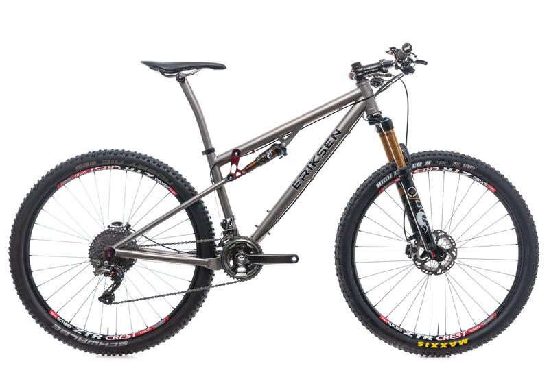 "Kent Eriksen Full Suspension 15"" Bike - 2015 drive side"