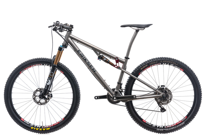 "Kent Eriksen Full Suspension 15"" Bike - 2015 non-drive side"