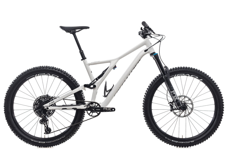 Specialized Mens Stumpjumper Comp Large Bike - 2019 drive side