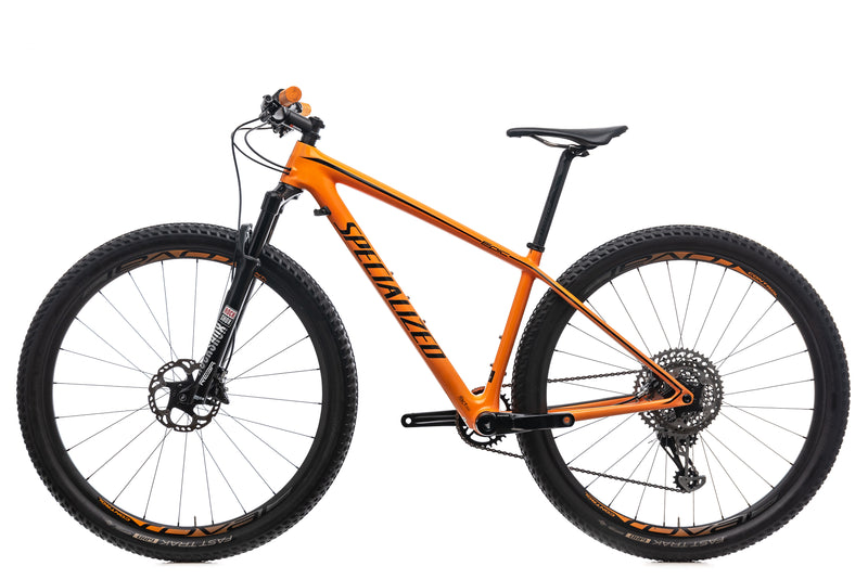 Specialized Epic HT Pro Carbon World Cup Small Bike - 2017 non-drive side