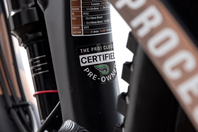 Kona Process 153 AL/DL Medium Bike - 2018 sticker