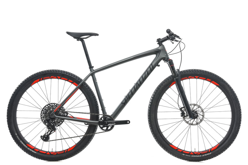 Specialized Epic Hardtail Expert Large Bike - 2018 drive side