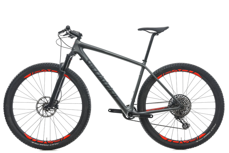 Specialized Epic Hardtail Expert Large Bike - 2018 non-drive side