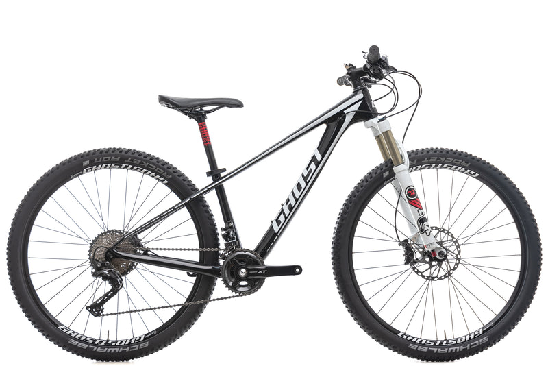 Ghost Nila Carbon LC 5 27.5 Womens Mountain Bike - 2016, X-Small drive side
