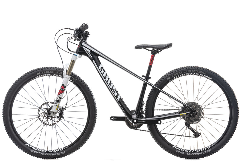 Ghost Nila Carbon LC 5 27.5 Womens Mountain Bike - 2016, X-Small non-drive side