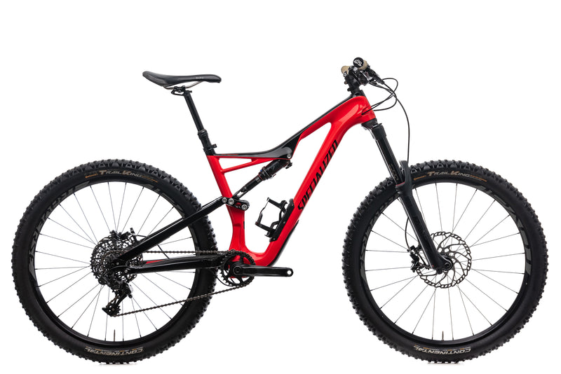 Specialized Stumpjumper FSR Expert Medium Bike - 2017 drive side