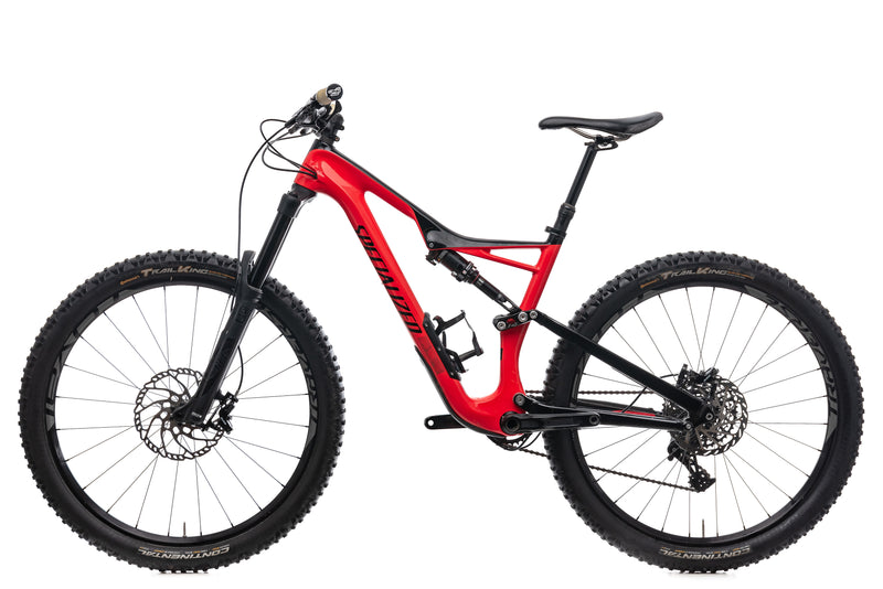 Specialized Stumpjumper FSR Expert Medium Bike - 2017 non-drive side
