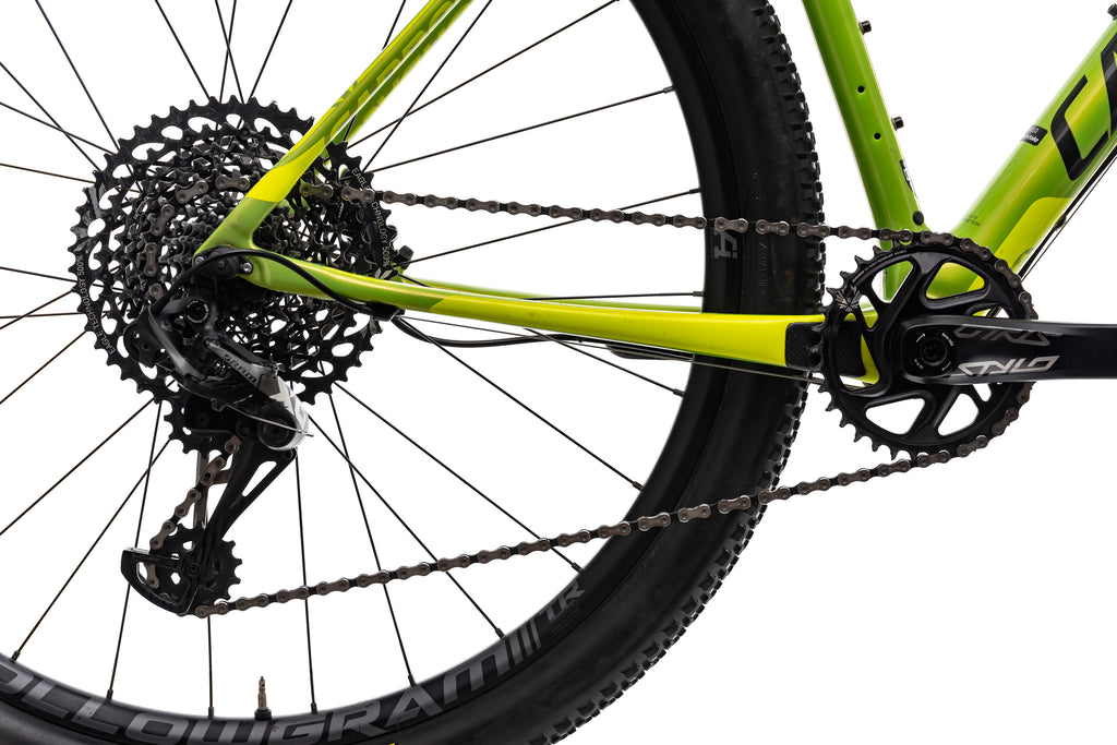 Cannondale F-Si Carbon 2 Mountain Bike - 2018, Large drivetrain