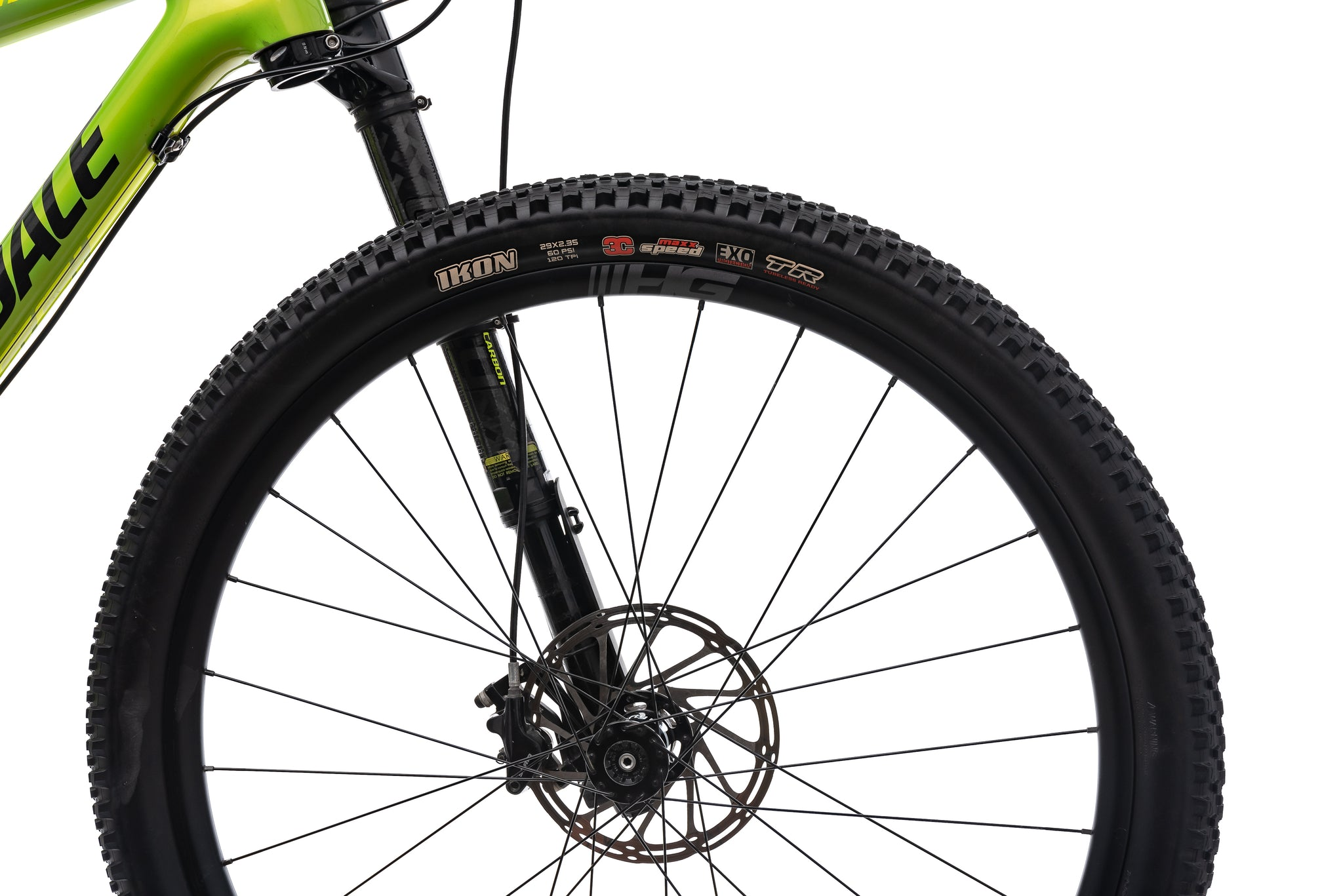 Cannondale F-Si Carbon 2 Mountain Bike - 2018, Large front wheel