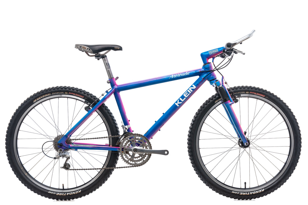 "Klein Attitude Mountain Bike - 1993, 19"" drive side"