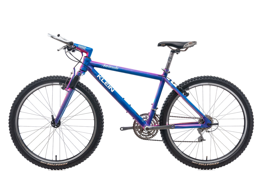 "Klein Attitude Mountain Bike - 1993, 19"" non-drive side"
