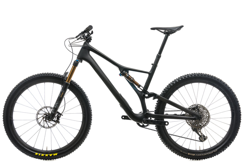 Specialized S-Works Stumpjumper FSR Mountain Bike - 2019, Large non-drive side