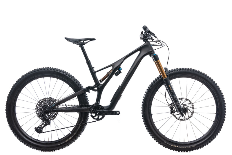Specialized S-Works Stumpjumper 27.5 Small Bike - 2019 drive side
