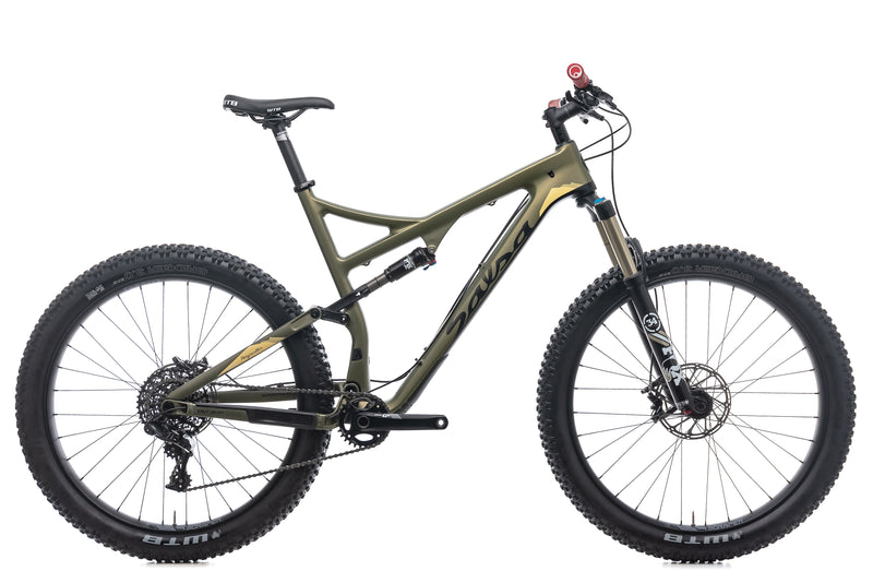 Salsa Pony Rustler Mountain Bike - 2017, X-Large drive side