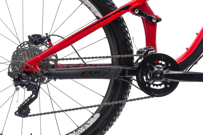Specialized Camber FSR Pro X-Large Bike - 2013 drivetrain