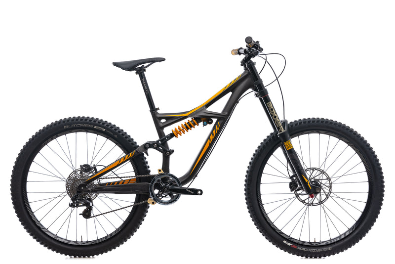 Specialized Enduro FSR Expert EVO Mountain Bike - 2015, Small drive side