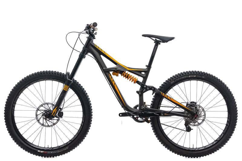 Specialized Enduro FSR Expert EVO Mountain Bike - 2015, Small non-drive side