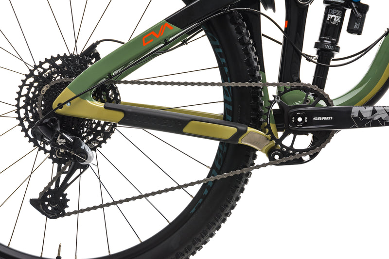 Niner RIP 9 RDO 2-Star Mountain Bike - 2018, Large drivetrain