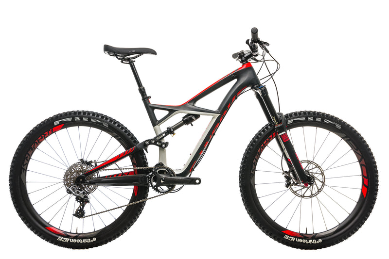 Specialized S-Works Enduro FSR Carbon Mountain Bike - 2015, Medium drive side