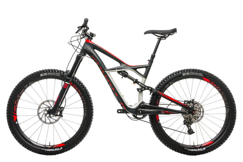 Specialized S-Works Enduro FSR Carbon Mountain Bike - 2015, Medium non-drive side