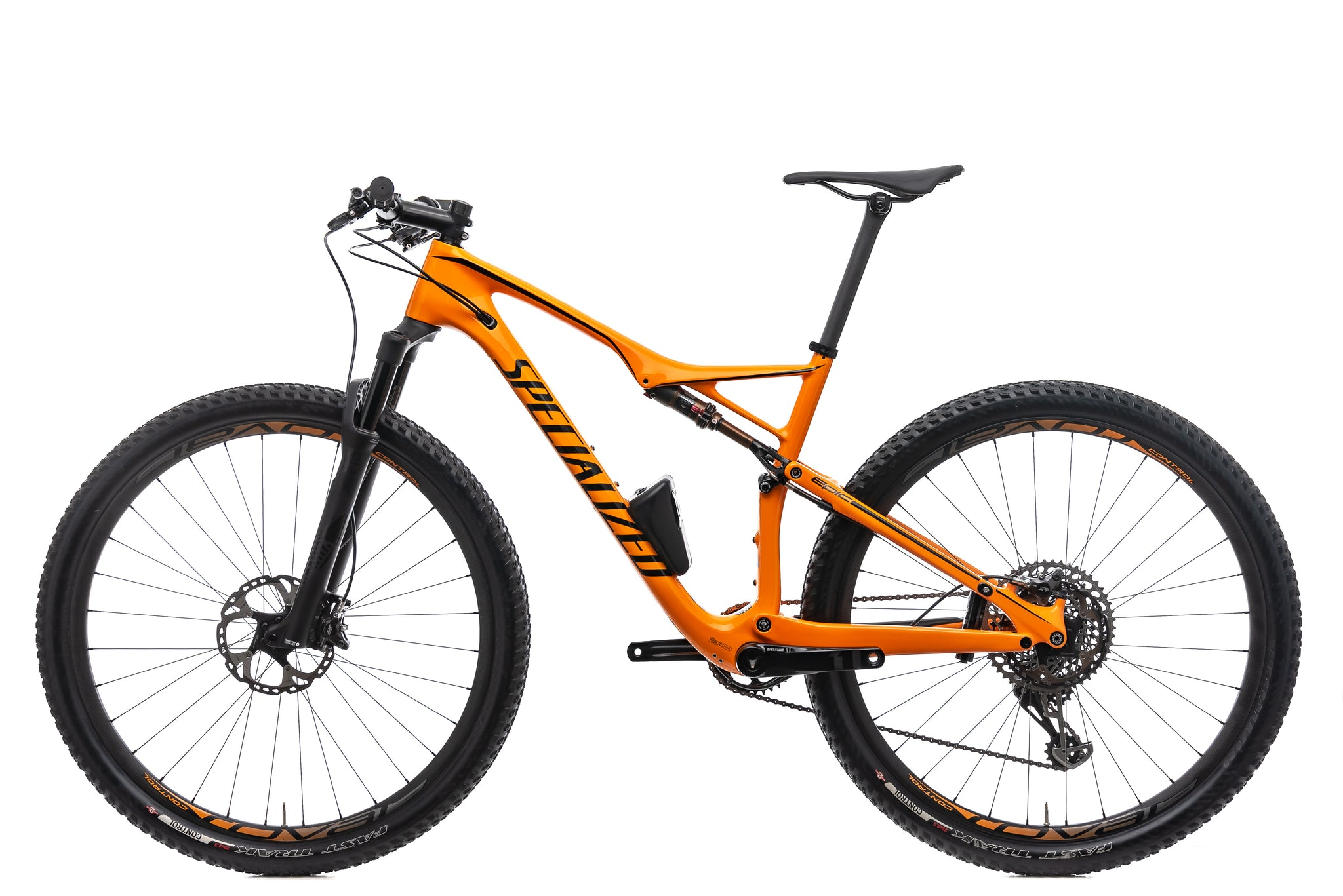 Specialized Epic FSR Pro Carbon World Cup Mountain Bike - 2017, Large non-drive side