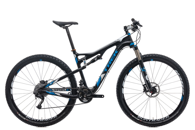 Trek Superfly 100 Elite Large Bike - 2012 drive side