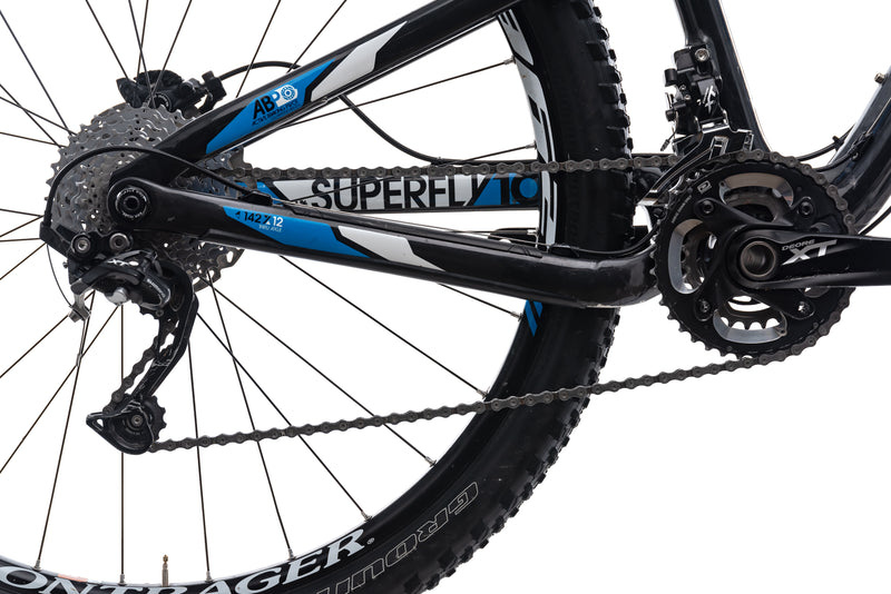 Trek Superfly 100 Elite Large Bike - 2012 drivetrain