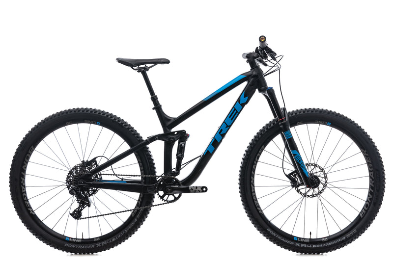 Trek Fuel EX 7 Medium Bike - 2018 drive side