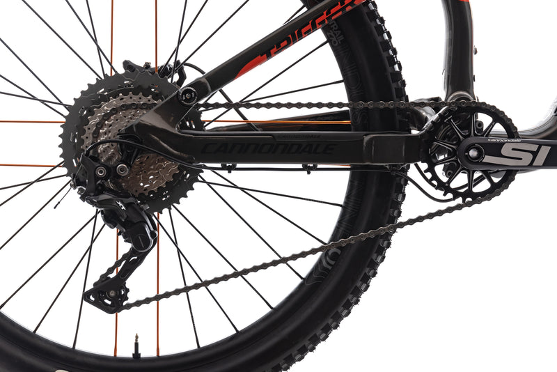 Cannondale Trigger 3 Medium Bike - 2018 drivetrain