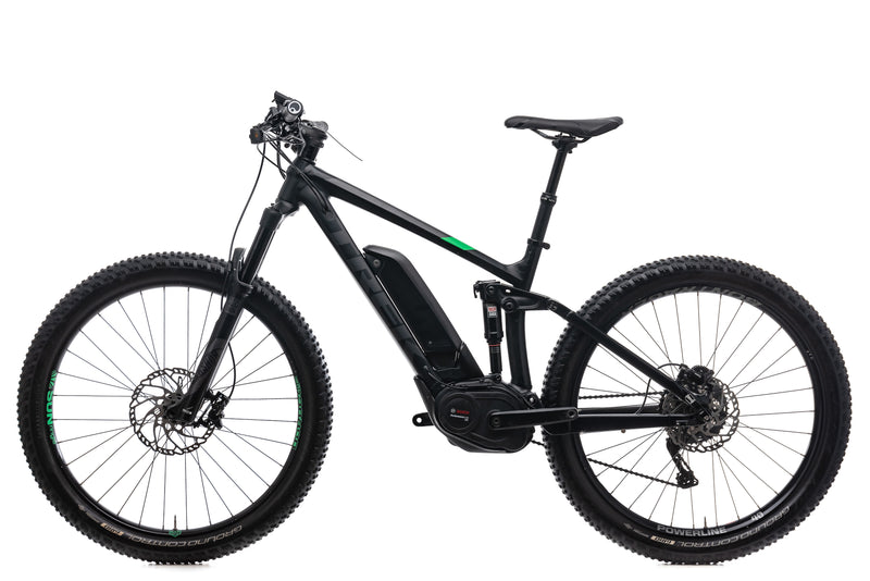 "Trek Powerfly 8 FS Plus 17.5"" Bike - 2017 non-drive side"