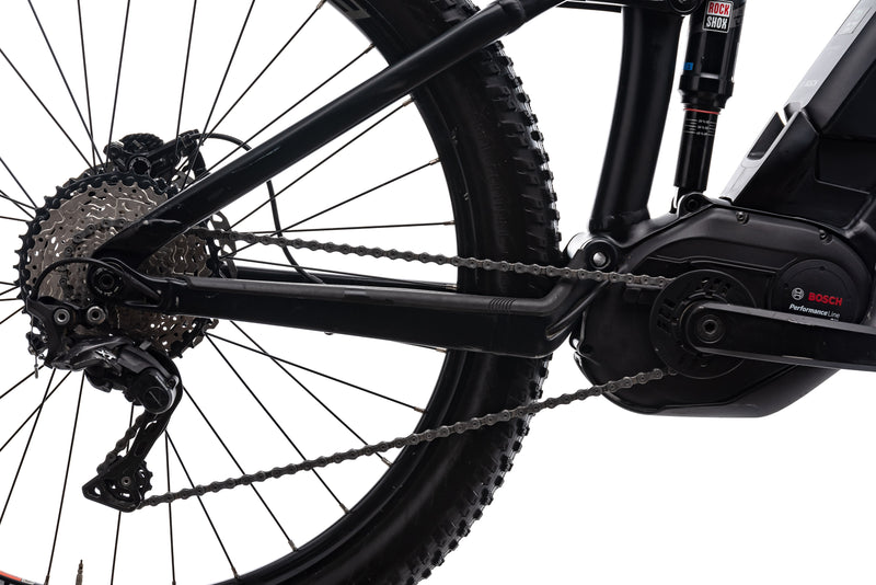 "Trek Powerfly 8 FS Plus 17.5"" Bike - 2017 drivetrain"