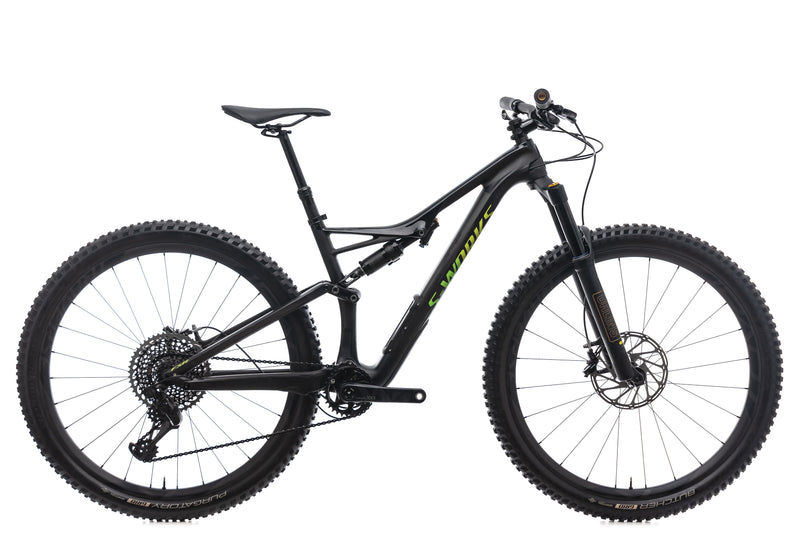 Specialized S-Works Stumpjumper 29/6 Fattie Mountain Bike - 2018, Medium drive side