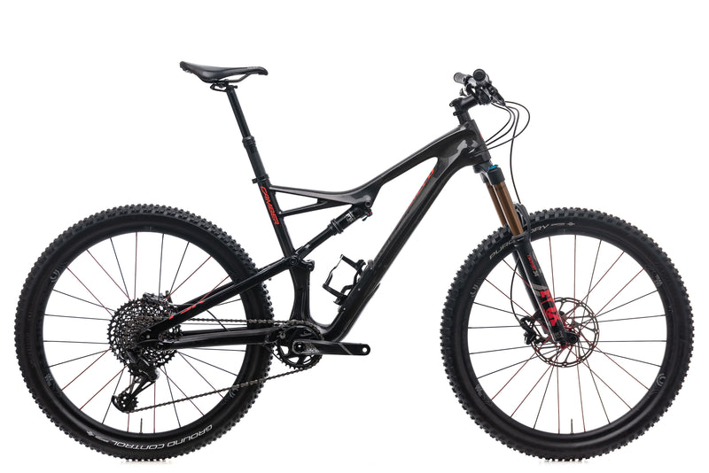 Specialized Camber Expert Mens Mountain Bike - 2018, Large drive side