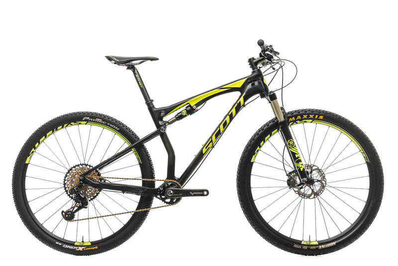 Scott Spark 900 RC Mountain Bike - 2016, Large drive side