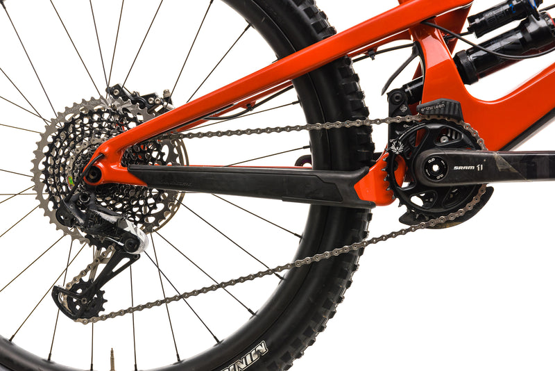 Santa Cruz Nomad CC X01 Reserve Mountain Bike - 2019, X-Large drivetrain